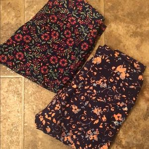 NWT OS Leggings by Lularoe (pair)